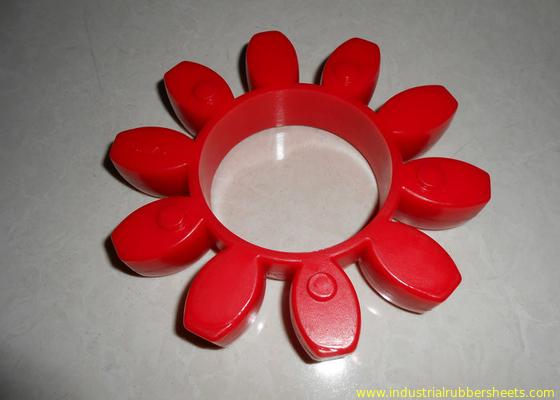 China Desgaste - o acoplamento vermelho resistente do poliuretano, 98 suporta um acoplamento da GR ou do plutônio distribuidor